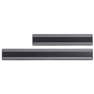 Contacto Bander Magnet-Messerhalter in Schwarz mit verdeckter Verschraubung