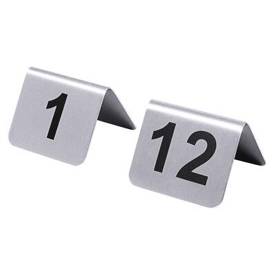 Contacto Bander Tischnummernschild