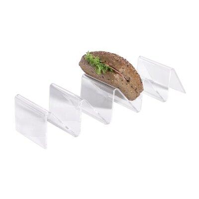 Contacto Bander 36cm x 8,5cm Snackablage mit 4 Fächern