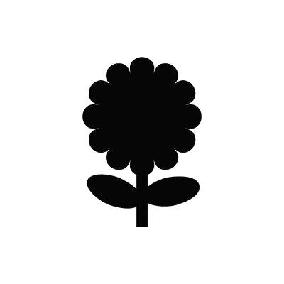 "Contacto Bander Wandtafel ""Blume"""