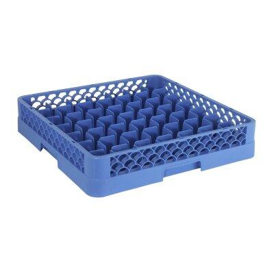 Contacto Bander Gläserspülkorb in Blau mit 49 Fächern