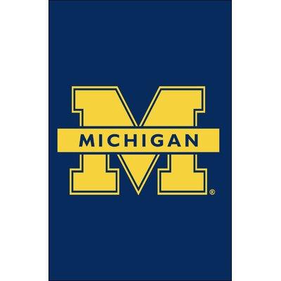 NCAA Vertical Flag NCAA Team: Michigan