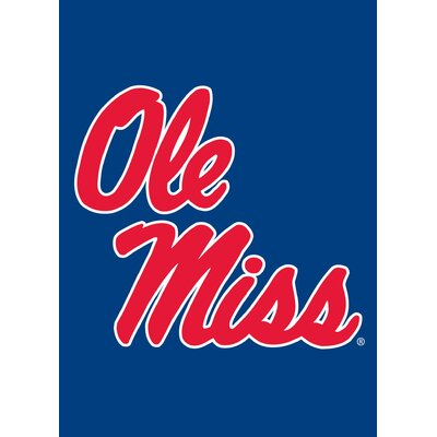 NCAA Vertical Flag NCAA Team: Ole Miss