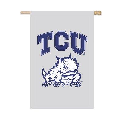 NCAA Vertical Flag NCAA Team: TCU