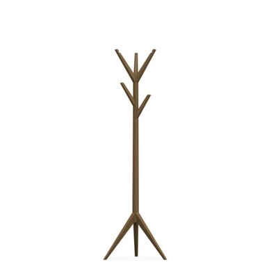 Memorabilia Wooden Coat Rack Color: Matte Nougat