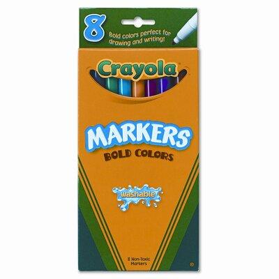 Crayola LLC Washable Fine Point Markers (8/Set)
