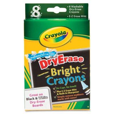 Crayola LLC Dry Erase Crayons