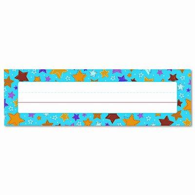 Carson-Dellosa Publishing Stars Desk Nameplates Name Tag