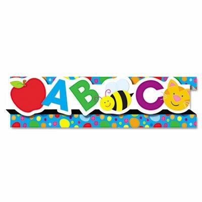 Carson-Dellosa Publishing Abcs/123S8 Pop-It Border and 8 Strips/Pack Classroom Border