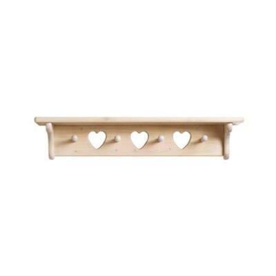 Little Colorado Heart Cutout Wall Shelf