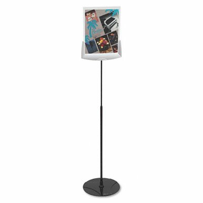Sherpa Infobase Sign Stand, Acrylic/Metal