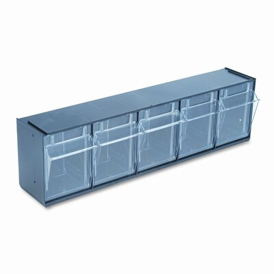 Deflect-O Corporation 5-Compartment Tip-Out Bin