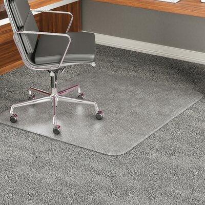 Carpeted Floor Beveled Edge Chair Mat