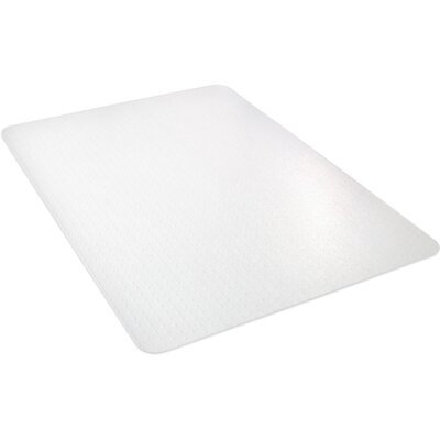 """All Pile Studded Chair Mat Size: 53"""" H x 45"""" W"""