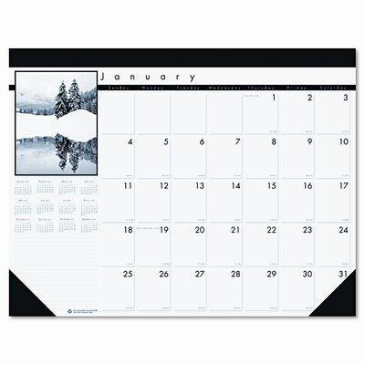 Photo Monthly Desk Pad Calendar
