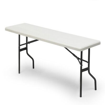 "Rectangular Folding Table Size: 29"" H x 72"" W x 18"" D"