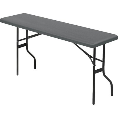 """Indestruc-Tables Too? Rectangular Folding Table Size: 72"""""""