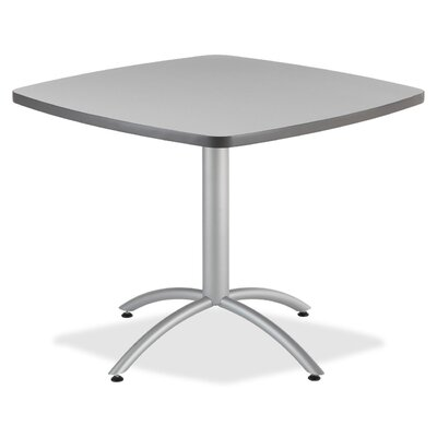"""36"""" Cafe Table Top Finish: Gray"""