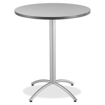 """36"""" Bistro Table Top Finish: Gray"""