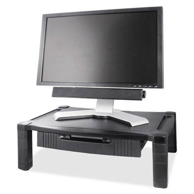 Kantek Height Adjustable Monitor Stand with Drawer