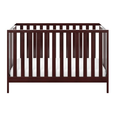 Pacific 3-in-1 Convertible Crib Color: Espresso