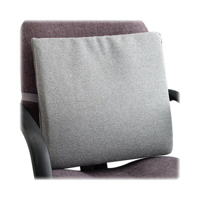 Seat/Back Cushion with Elastic Strap Finish: Neutral Gray