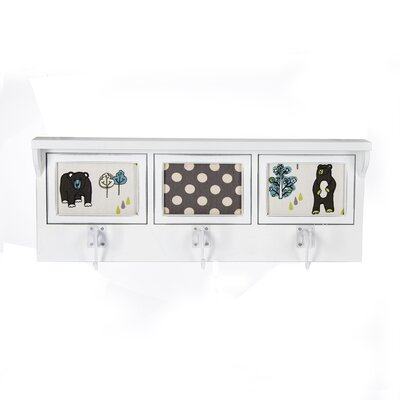 North Country Photo Wall Mounted Coat Rack