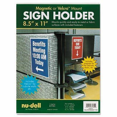Plastic Sign Holder