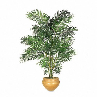 Nudell Plastics Artificial Areca Palm Tree