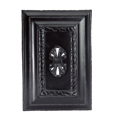 Aylward Door Chime in Matte Black