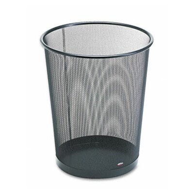 Rolodex Corporation 4.5-Gal. Round Wastebasket