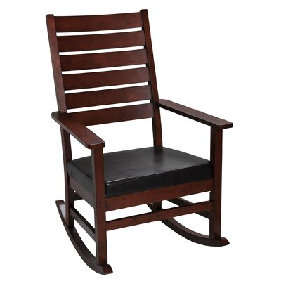 Mission Rocking Chair Color: Cherry