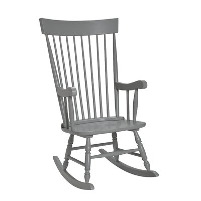 Danvers Rocking Chair Color: Gray