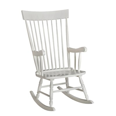 Danvers Rocking Chair Color: White