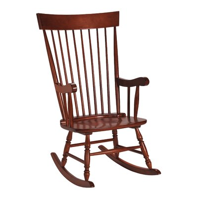Danvers Rocking Chair Color: Cherry