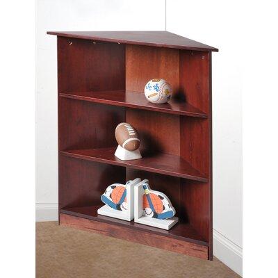 Corner Unit Bookcase Finish: Cherry