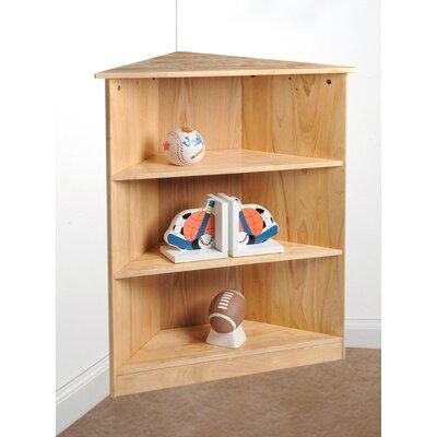 Corner Unit Bookcase Finish: Natural