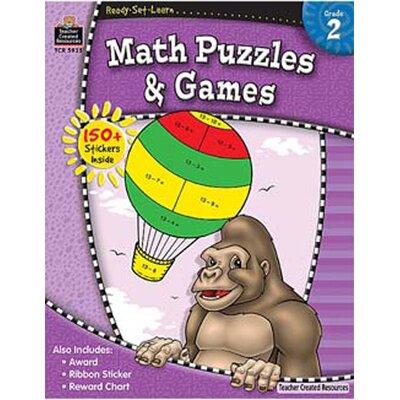 Teacher Created Resources Ready Learn Math Book Set