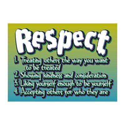 Trend Enterprises Poster Respect Poster