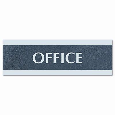 Headline Sign Century Series Office Sign, Office