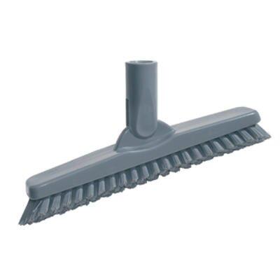 SmartColor Swivel Corner Brush in Gray Handle