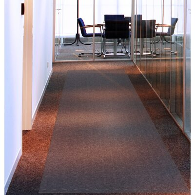 """Long and Strong Floor Protector for Standard Pile Carpets Rug Size: 144"""" W x 36"""" D"""