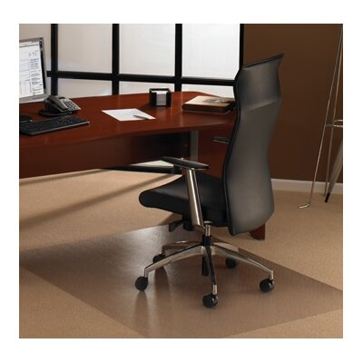 "Cleartex Ultimat XXL Pile Carpet Straight Edge Chair Mat Size: 118"" W x 48"" D"