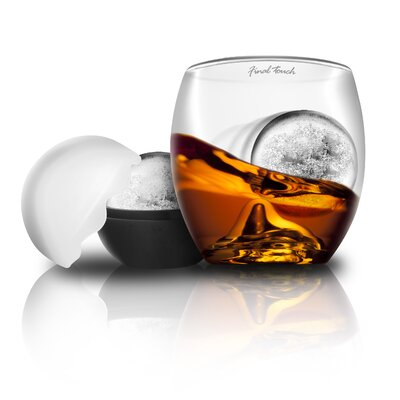 Bar Originale Final Touch on The Rocks Whisky Glass