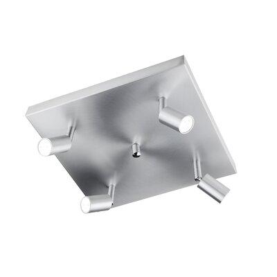 Leuchten Busch LED-Deckenleuchte 4-flammig Flux