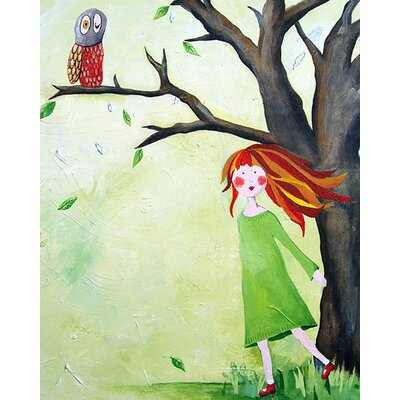 Cici Art Factory Who Who Owl Paper Print