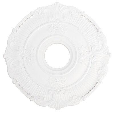 "Buckingham Ceiling Medallion Size: 1.5"" H x 18""W"