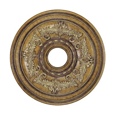 Ceiling Medallion in Venetian Patina Size: Extra Large