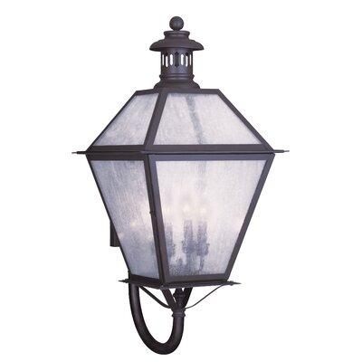 Livex Lighting Waldwick 4 Light Outdoor Wall Lantern