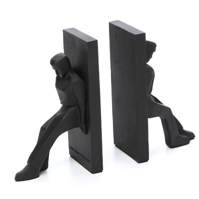 Kikkerland Statue Book End